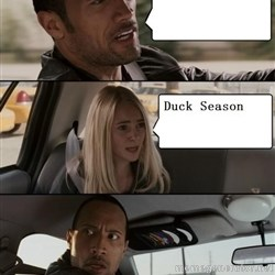 The Rock driving -