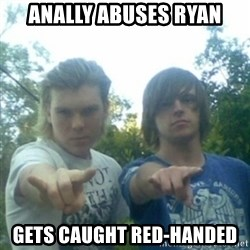 god of punk rock - Anally abuses ryan gets caught red-handed