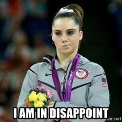 McKayla Maroney Not Impressed - i am in disappoint