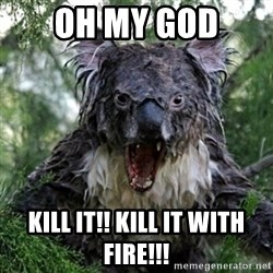 Wet Koala - Oh my god Kill it!! Kill it with fire!!!