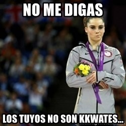 unimpressed McKayla Maroney 2 - No me digas Los tuyos no son KKwates...