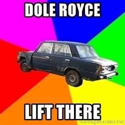 AdviceCar - dole royce lift there
