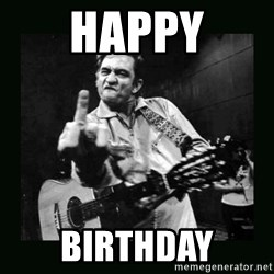 Johnny Cash - Happy Birthday