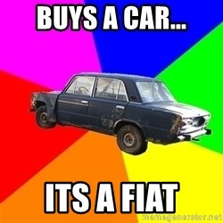 AdviceCar - buys a car... its a fiat