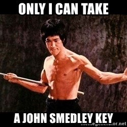 brucelee - Only i can take A john Smedley key
