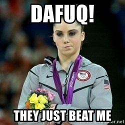 McKayla Maroney Not Impressed - DAFUQ! THEY JUST BEAT ME
