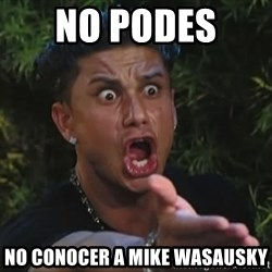 Pauly D - No podes  no conocer a mike wasausky