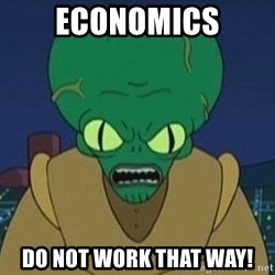Morbo - economics Do not work that way!