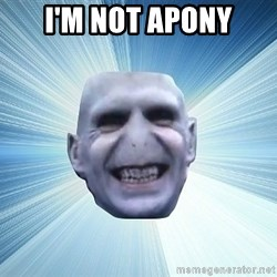 vold - I'M NOT APONY
