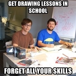 Naive Junior Creatives - Get drawing lessons in school forget all your skills