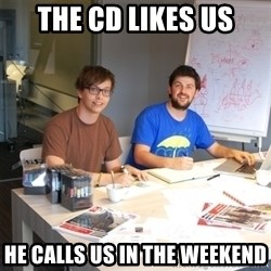 Naive Junior Creatives - the cd likes us he calls us in the weekend
