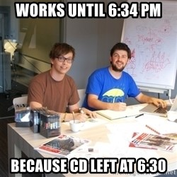 Naive Junior Creatives - Works until 6:34 pm because cd left at 6:30