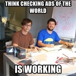 Naive Junior Creatives - think checking ads of the world is working