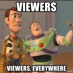 Buzz - viewers viewers, everywhere