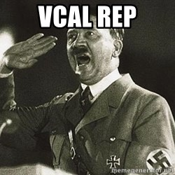 Adolf Hitler - vcal rep