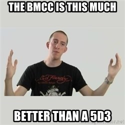 Indie Filmmaker - The bmcc is THIS MUCH better than a 5d3