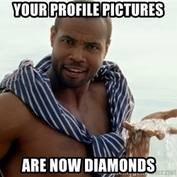 This Thread Is Now Diamonds - Your profile pictures are now diamonds