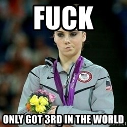 McKayla Maroney Not Impressed - FUCK  ONLY GOT 3RD IN THE WORLD