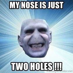 vold - MY NOSE IS JUST  TWO HOLES !!!
