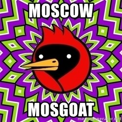 Omsk Crow - MOSCOW MOSGOAT