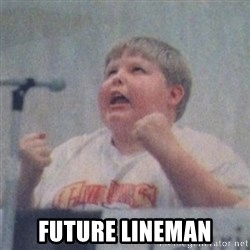 The Fotographing Fat Kid  -  Future lineman