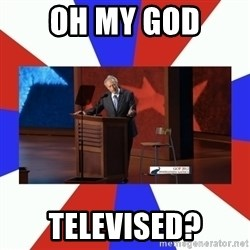 Invisible Obama - Oh My god Televised?