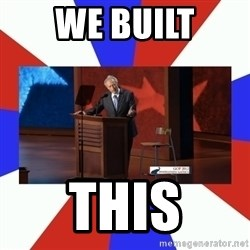 Invisible Obama - We built This