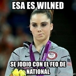 Not Impressed McKayla - esa es wilned se jodio con el feo de national