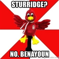 Liverpool Problems - sturridge? no. benayoun