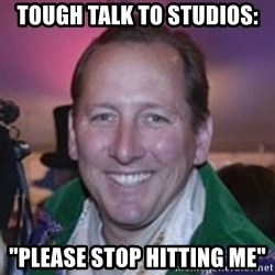 "Pirate Textor - tough talk to studios: ""Please stop hitting me"""