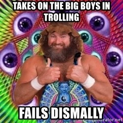 PSYLOL - takes on the big boys in trolling fails dismally