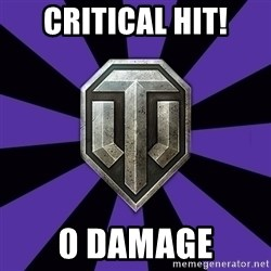 World of Tanks - CRITICAL HIT! 0 DAMAGE