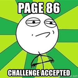 Challenge Accepted 2 - PAGE 86 CHALLENGE ACCEPTED