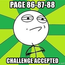 Challenge Accepted 2 - PAGE 86-87-88 CHALLENGE ACCEPTED
