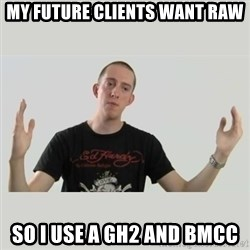 Indie Filmmaker - My future clients want raw so I use a GH2 and BMCC