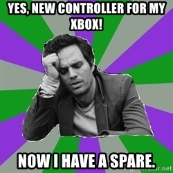 Forever Alone Bruce - YES, NEW CONTROLLER FOR MY XBOX! NOW I HAVE A SPARE.