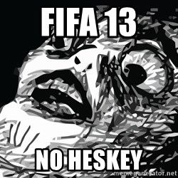 shocked - FIFA 13  NO HESKEY