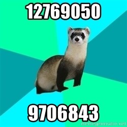 Obvious Question Ferret - 12769050  9706843