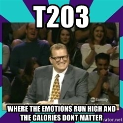Drew Carey Whose line - t203 where the emotions run high and the calories dont matter