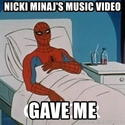Cancer Spiderman - Nicki Minaj's music Video GAVE ME
