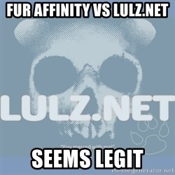 Lulz Dot Net - fur affinity vs lulz.net seems legit