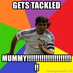 typical.russian.footballer - Gets Tackled MUMMY!!!!!!!!!!!!!!!!!!!!!!!