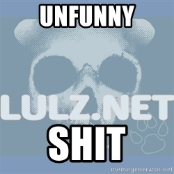 Lulz Dot Net - UNFUNNY SHIT