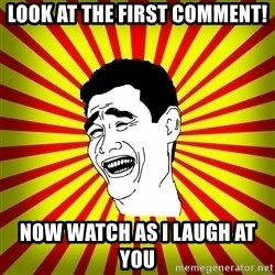 Yao Ming trollface - look at the first comment! now watch as i laugh at you