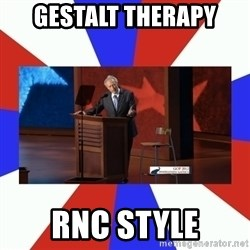 Invisible Obama - Gestalt Therapy RNC STYLE