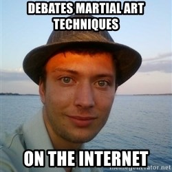 Beta Tom - debates martial art techniques on the internet