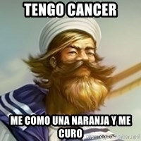"Gangplank ""but then i ate some oranges and it was k"" - Tengo cancer me como una naranja y me curo"