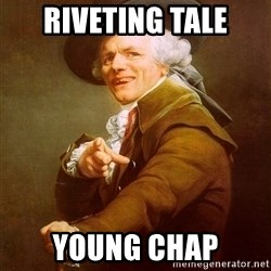 Joseph Ducreux - riveting tale young chap