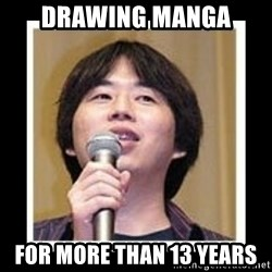 masashi kishimoto - drawing manga for more than 13 years