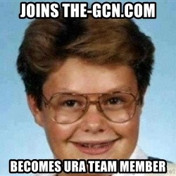 good luck larry hd - jOINS the-gcn.com becomes ura team member